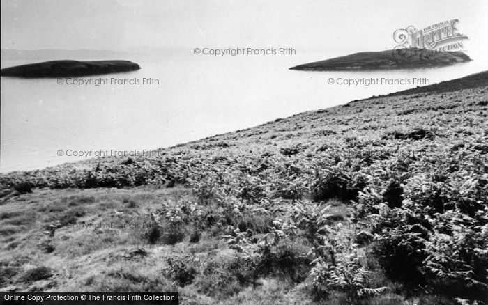 Photo of Abersoch, St Tudwal's Islands c.1965