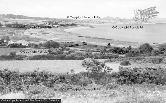 Photo of Abersoch, The Bay And Golf Links c.1935