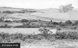 Abersoch, The Bay And Golf Links c.1935