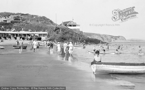 Photo of Abersoch, The Beach 1936