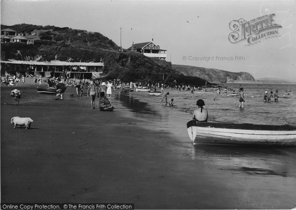 Photo of Abersoch, The Beach 1936