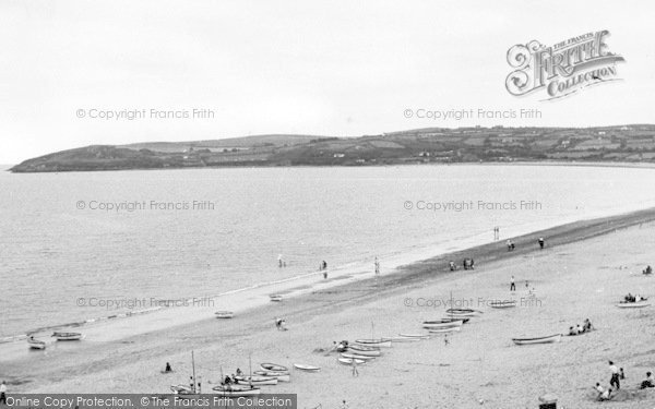 Photo of Abersoch, The Beach And Headland c.1955