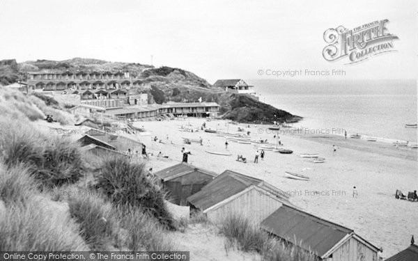 Photo of Abersoch, The Beach c.1950