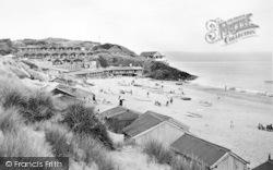 Abersoch, The Beach c.1950