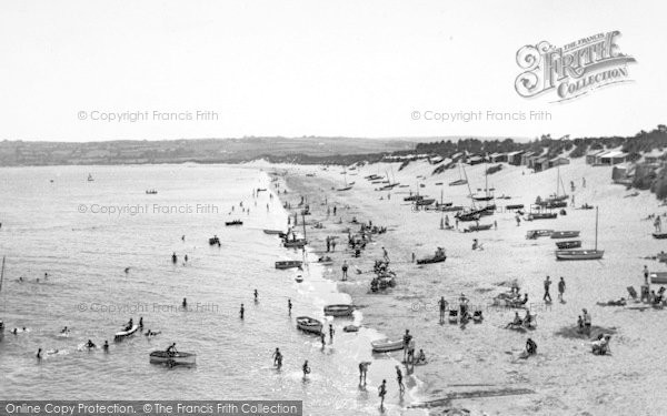 Photo of Abersoch, The Beach c.1960