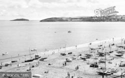 Abersoch, The Beach c.1960