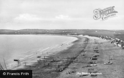 Abersoch, The Beach c.1960