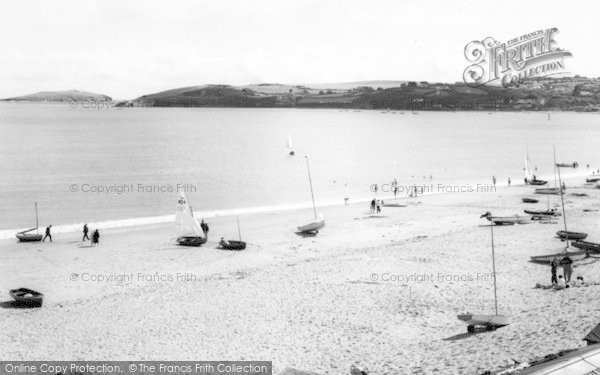 Photo of Abersoch, The Beach c.1965