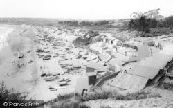 Abersoch, The Beach c.1965