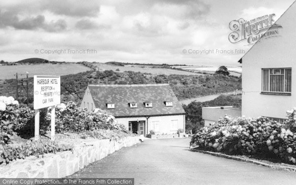 Photo of Abersoch, The Drive, Harbour Hotel c.1965