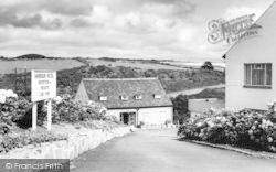Abersoch, The Drive, Harbour Hotel c.1965