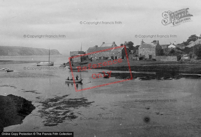 Photo of Abersoch, The Harbour 1901