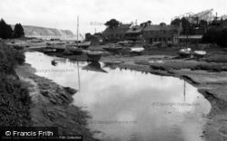 Abersoch, The Harbour 1961