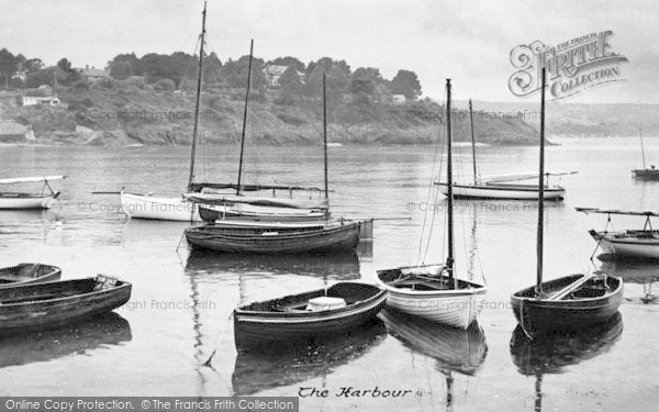 Photo of Abersoch, The Harbour c.1955
