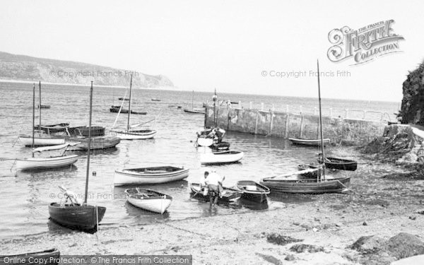 Photo of Abersoch, The Harbour c.1960