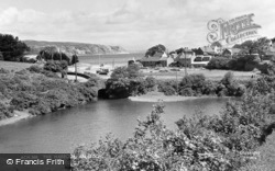 The Harbour c.1960, Abersoch