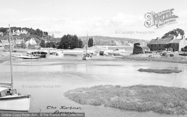 Photo of Abersoch, The Harbour c.1965