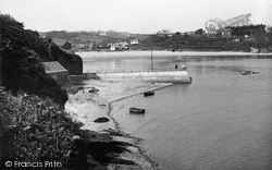 Abersoch, The Harbour From Bennar Headland 1936