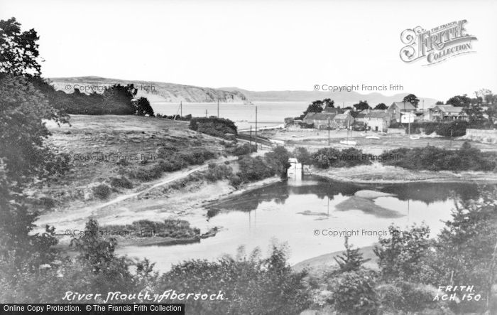 Photo of Abersoch, The River Mouth c.1935