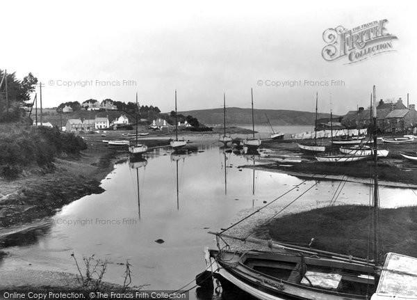 Photo of Abersoch, The River Soch 1935
