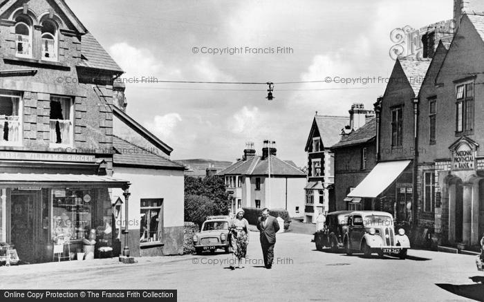 Photo of Abersoch, The Square c.1960