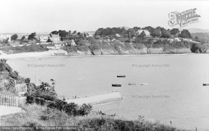 Photo of Abersoch, The Village c.1955
