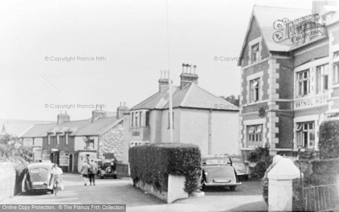 Photo of Abersoch, The Village c.1955