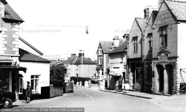 Photo of Abersoch, The Village c.1960