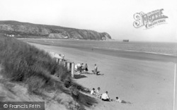 Abersoch, The Warren c.1936
