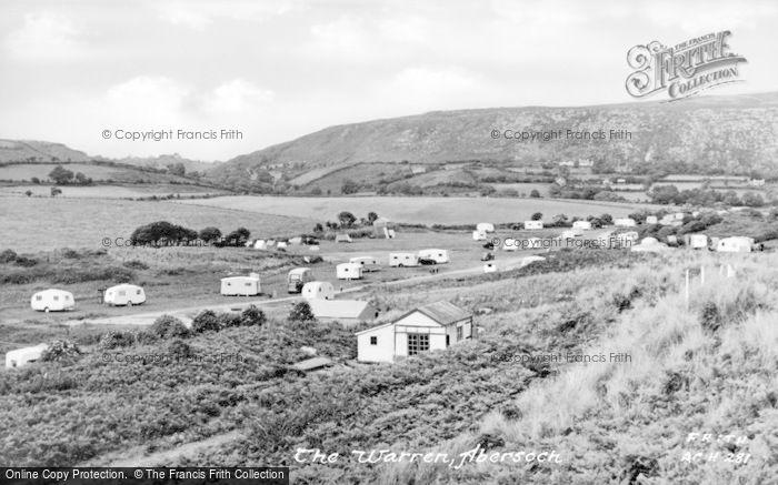 Photo of Abersoch, The Warren c.1955