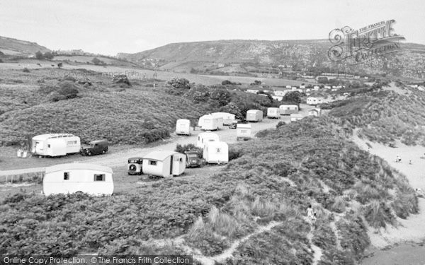 Photo of Abersoch, The Warren c.1955