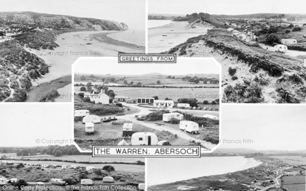 Photo of Abersoch, The Warren Composite c.1955