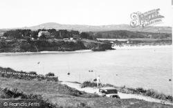 Abersoch, The Warren From The Headland 1936