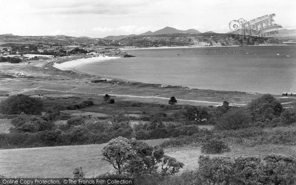 Photo of Abersoch, View From Bwlchtocyn c.1936