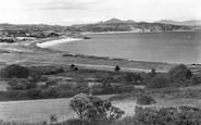 Abersoch, View From Bwlchtocyn c.1936