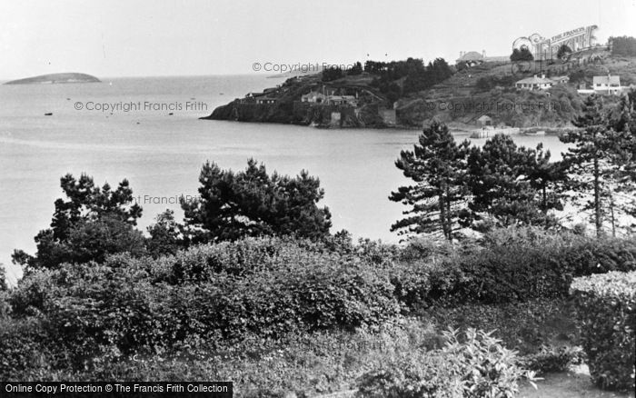 Photo of Abersoch, View From Craig Y Mor Hotel c.1955