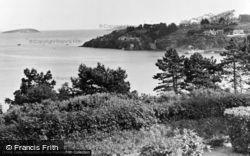 Abersoch, View From Craig-Y-Mor Hotel c.1955