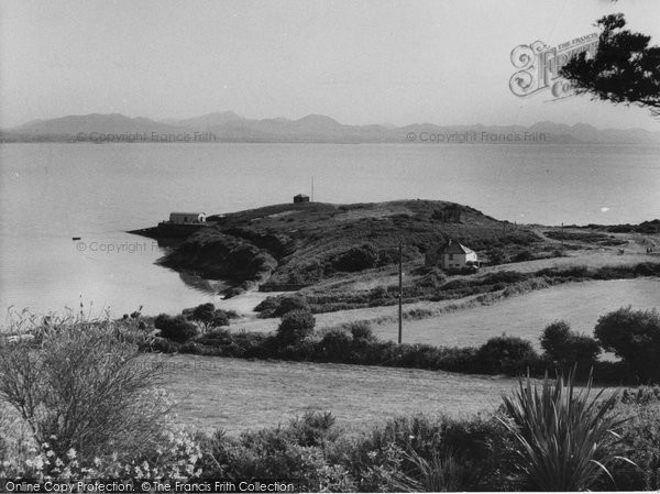 Photo of Abersoch, view from Porth Tocyn Hotel c1960