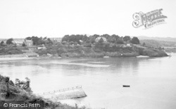 Abersoch, View From The Harbour c.1955