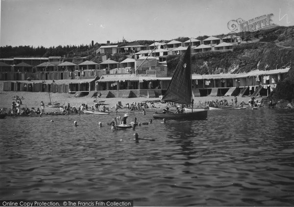 Photo of Abersoch, View From The Sea c.1935