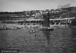 Abersoch, View From The Sea c.1935