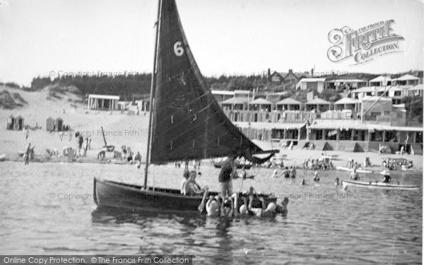 Photo of Abersoch, View From The Sea c.1936