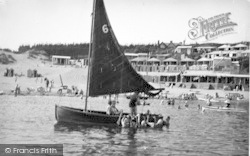 Abersoch, View From The Sea c.1936