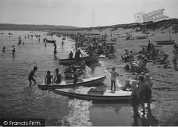 Abersoch, View Of Beach c.1935
