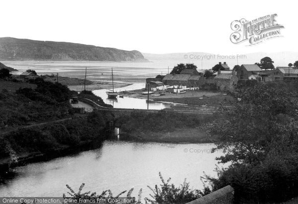 Photo of Abersoch, Village c.1936