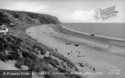 Warren Beach, Traeth Castellmarch c.1955, Abersoch