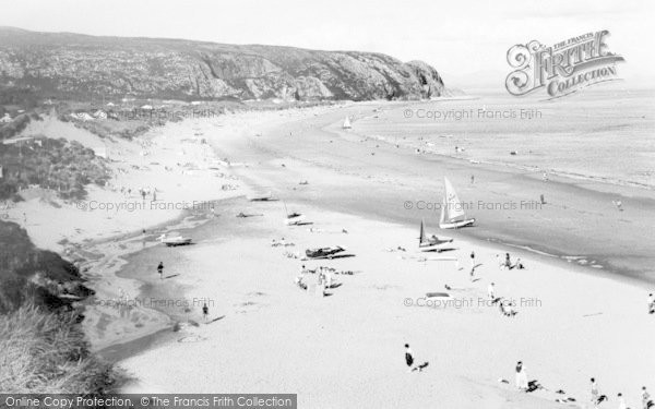 Photo of Abersoch, Warren Beach, Warren Caravan Park c.1965