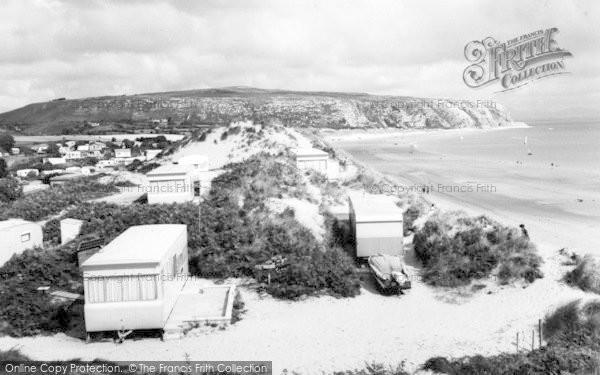 Photo of Abersoch, Warren Caravan Site c.1965