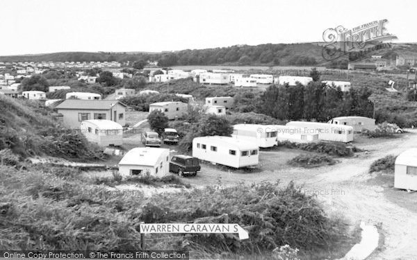 Photo of Abersoch, Warren Caravan Site c.1965