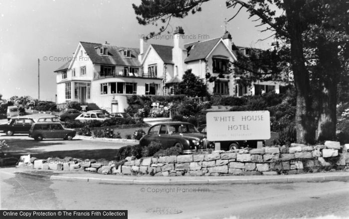 Photo of Abersoch, White House Hotel c.1955